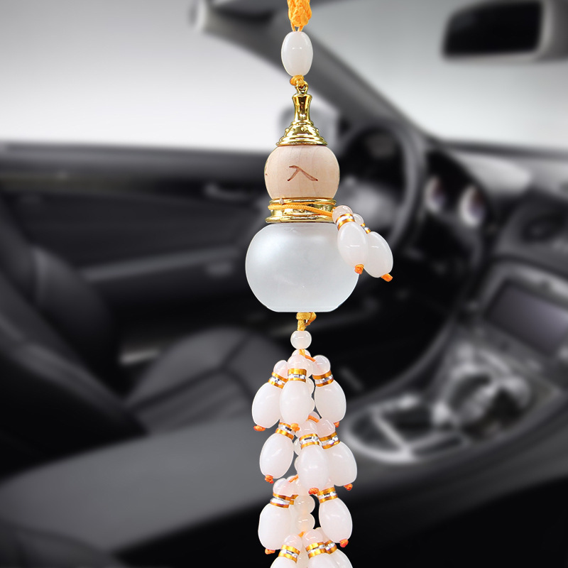 Ensure the safety of large gourd pendant car perfume car universal product with car ornaments glazed gourd perfume ornaments