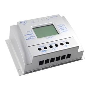 Image 3 - 80A شاحن بالطاقة الشمسية تحكم USB 1.5A 5 فولت الناتج 12 فولت 24 فولت LCD لوحة طاقة شمسية منظم مع تحميل الموقت والتحكم في الضوء للإضاءة