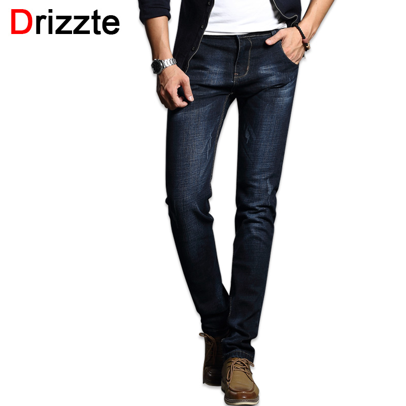 Drizzte Fashion Men 39 S Jeans Comfortable Stretch Blue Denim