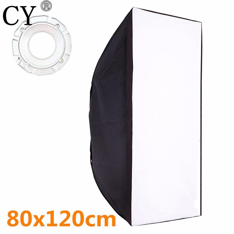 High Quality 80x120cm Studio Softbox With Bowens Mount Soft Box For Flash Light
