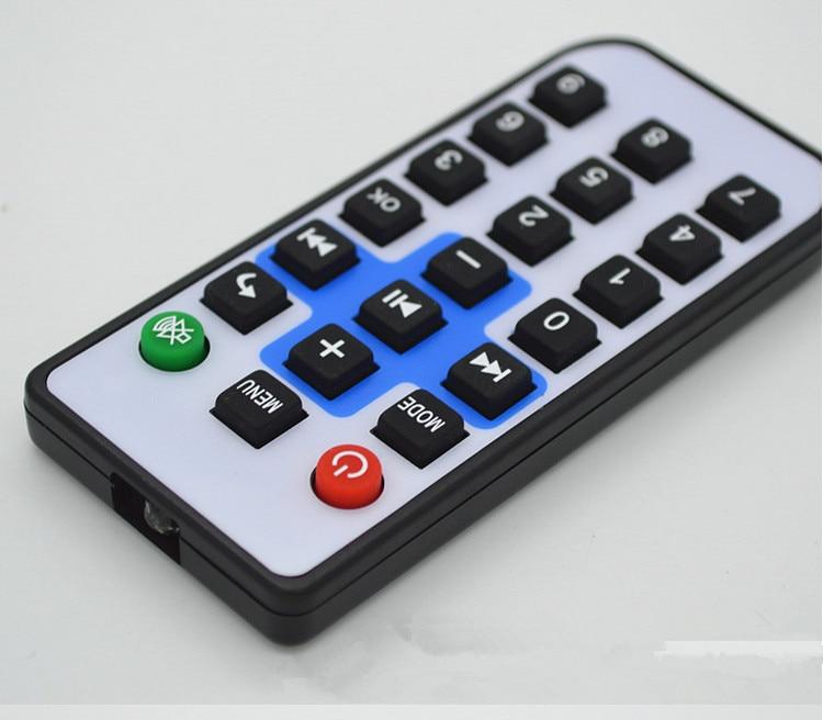 Free Ship 10pcs/lot Infrared Remote Control/21 Key Mini Equipment Remote Control/rubber Remote Control