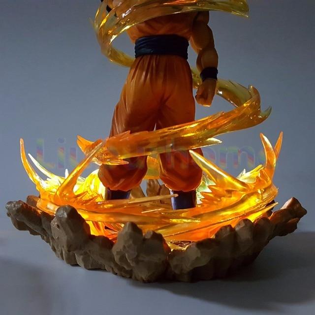 Dragon Ball Z Goku Led Night Lamp Anime Christmas Decor