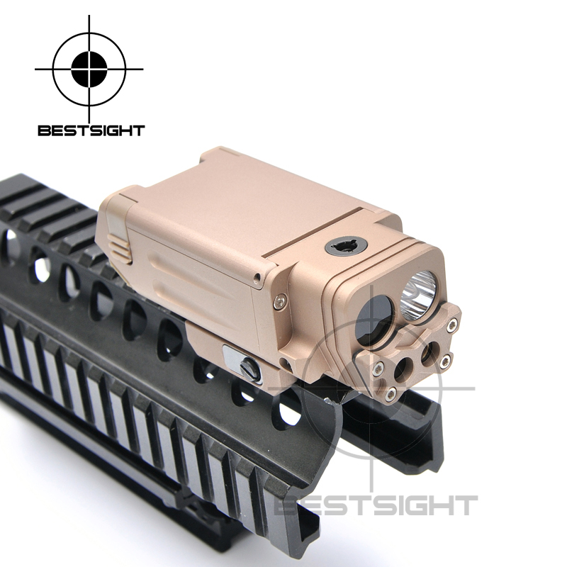 New Tactical DBAL-PL Flashlight With Red Laser And IR Illuminator Optical Scope For Pistol Gun wipson sf m600b mini scout light for tactical gun flashlight led weapon light pistol flashlight with remote tail switch