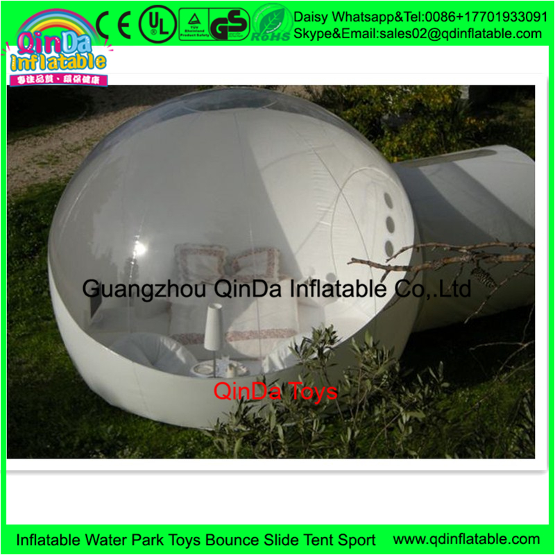 Hot Sale PVC Transparent Camping Tent Inflatable Bubble Tent For Sale outdoor camping bubble tent  big inflatable lawn tent transparent pvc inflatable bubble tent for hotel use