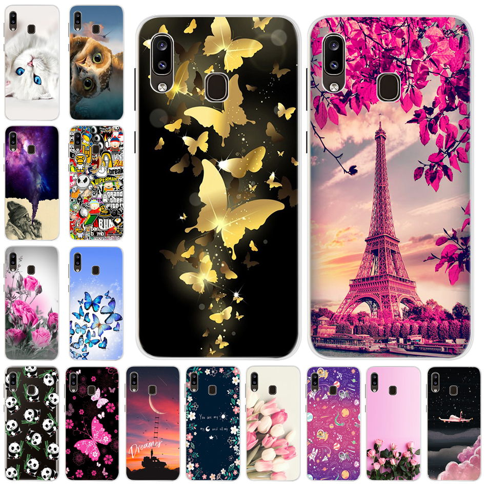 Cool Case For <font><b>Samsung</b></font> Galaxy A10 A20 A30 <font><b>A40</b></font> A50 A70 Silicone Soft TPU Case For <font><b>Samsung</b></font> Galaxy A 40 A20 A30 A50 <font><b>2019</b></font> Back <font><b>Cover</b></font> image