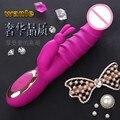 Aquecimento Recarregável Vibrador G-spot Clitóris Estimulador Feminino Maturbation Adulto Dos Produtos Do Sexo Para Mulheres Brinquedos Sexuais