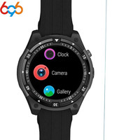 696 X100 Bluetooth Smart Watch Heart rate Music Player Facebook Whatsapp Sync SMS Smartwatch wifi 3G GPS Fashion Watch PK kw18