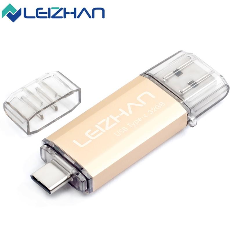 19USB Flash Drive USB 3.0 Type-C 3.1 Pendrive