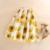 Senhoras Designer de Marca Original 3D Amarelo Floral Impressão Midi Saias Verão Outono High Street Elegante Saias Faldas Largas Vestido