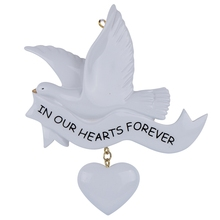 In Our Hearts Forever Personalized Christmas Ornaments 2015 our hearts will burn us down