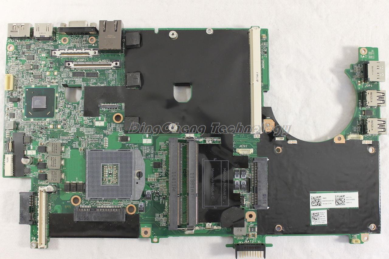Материнская плата для ноутбука Dell Precision M6600 0NVY5D CN-0NVY5D HM67 DDR3