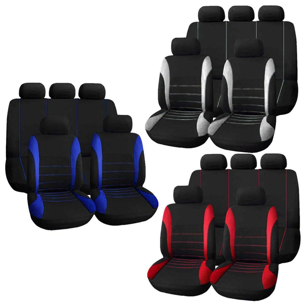 Universal Car Seat Covers Complete Seat Crossover Automobile Interior Accessories Cover Full For Car Care Drop Shipping
