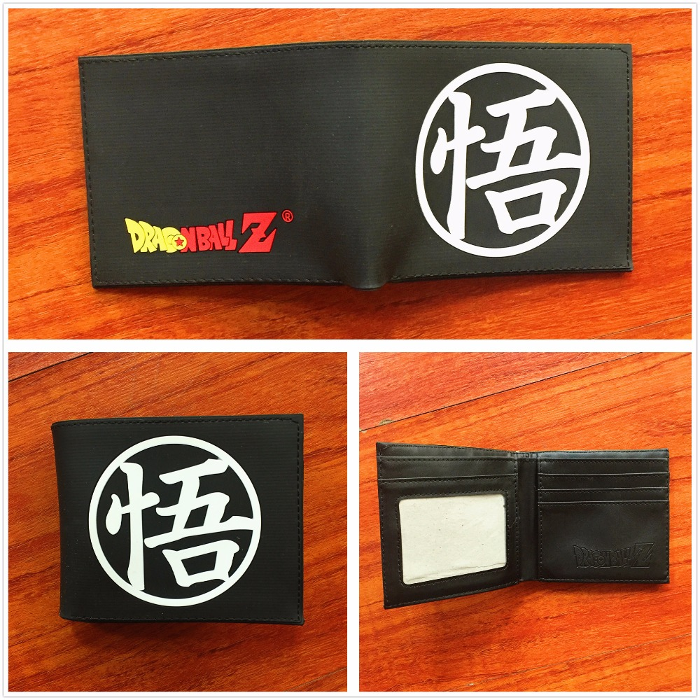 Japan anime Dragon Ball Z Wallet Young Men Women Students Cartoon Fashion Short Wallets short folding Purse W713Q japan anime pokemon eevee pikachu wallet anime cosplay men women bifold purse