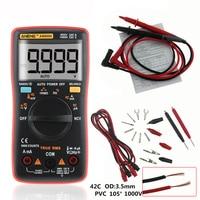 AN8009 True RMS Auto Range Digital Multimeter NCV Ohmmeter AC/DC Voltage Ammeter Current Meter temperature measurement tester