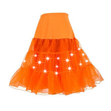 Abbille Fashion Women Girl Tutu Skirt Petticoat Underskirt Retro Vintage Crinoline Wedding Bridal Women Skirts 6 Colors Skirts