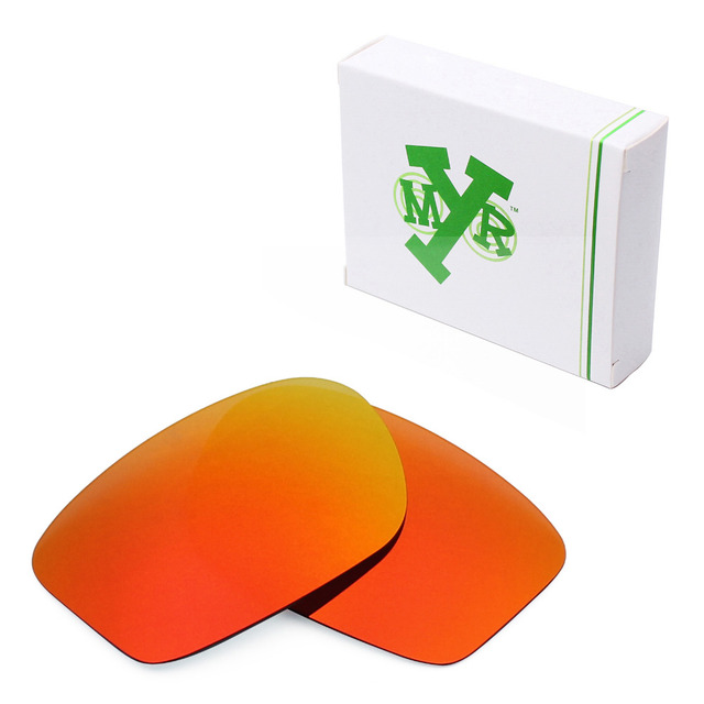 e7569eb5a11 Mryok POLARIZED Replacement Lenses for Oakley Chainlink Sunglasses Fire Red
