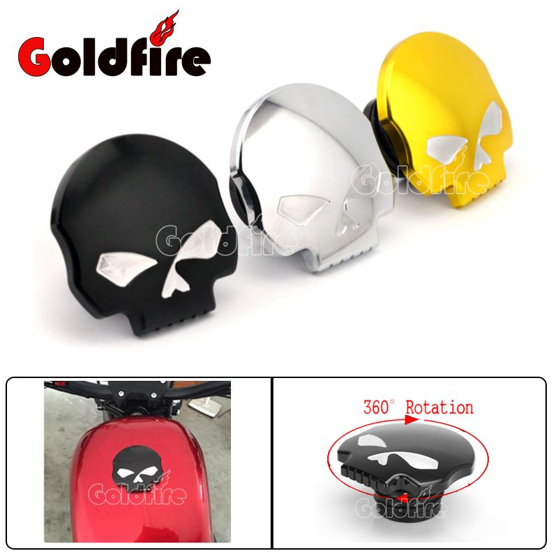 Adjustable 360 Degree Rotate Motorcycle Fuel Tank Cap Aluminum Fuel Tank Cover For Harley Sportster XL883 1200 48 2004-2015