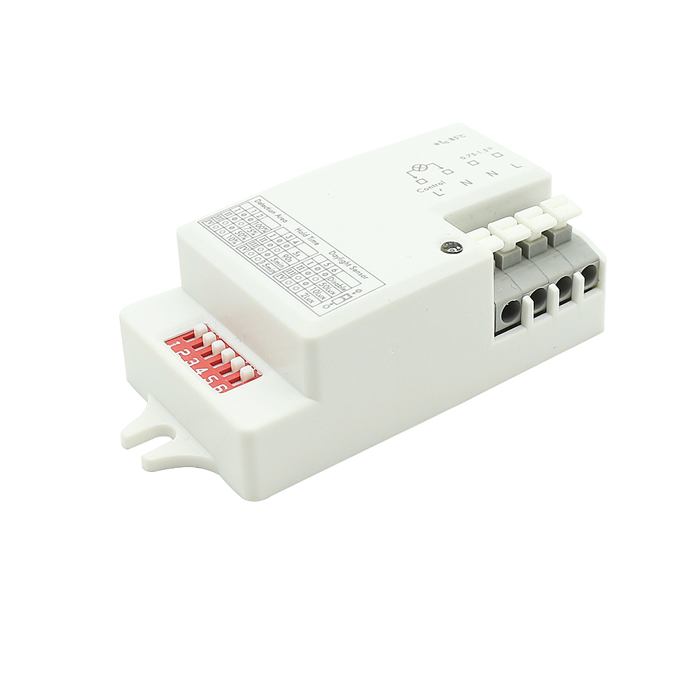 220V~240V AC Microwave Radar Sensor Switch Module Home Control PIR Infrared Ray Body Motion Detector Light Switch