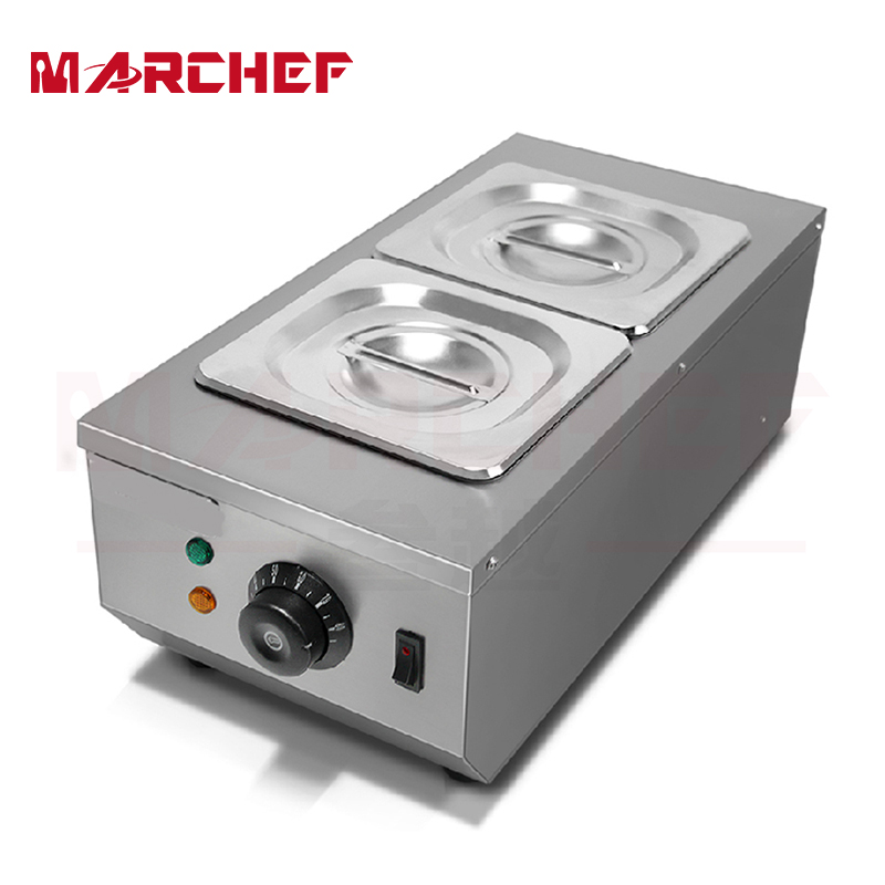 2 Trays stainless steel melting furnace hot chocolate machine chocolate melting maker fast shipping food machine digital chocolate melting machine stainless steel chocolate machine household and commercial