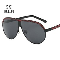 BULUN 2018 Fashion Pilot Sunglasses Women Brand Designer Vintage With Metal Frame Glasses For Women Men