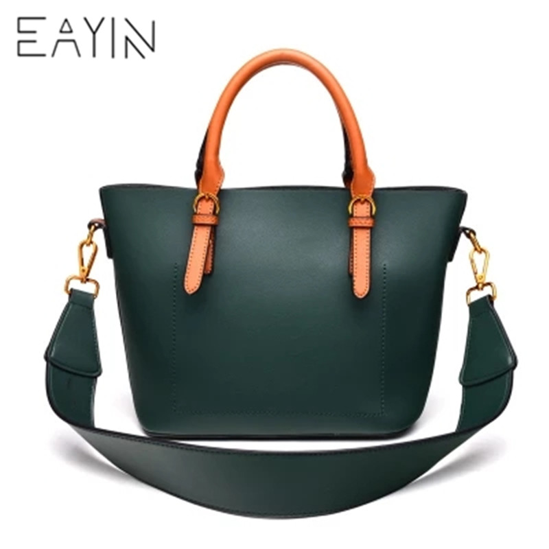 EAYIN 2pcs Women Bags Set Fashion clutch Bags For Women 2018 Female Large Size Shoulder Bag Messenger hand bag bolsa feminina forudesigns fashion flower painting women casual tote bags large crossbody messenger bags for women female bag bolsa feminina