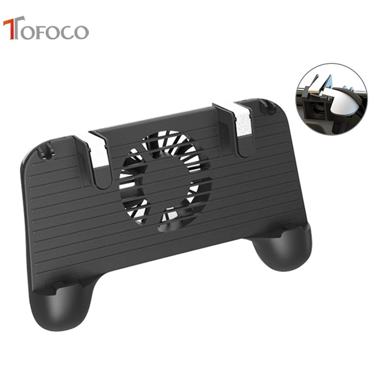 Cooler Cooling Fan Gamepad Pubg Phone Controller Hand Grip G