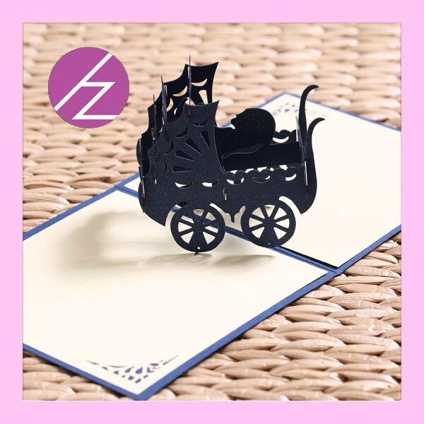 Aliexpress.com : Buy new design baby shower 3d invitation card 3d ...