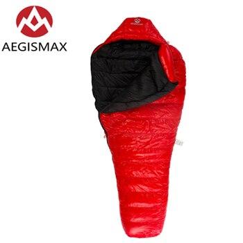 AEGISMAX C500 & C700 ультра светильник, уличный, кемпинг, туризм, для взрослых, мумия, белый утиный пух, спальный мешок, водонепроницаемый и теплый
