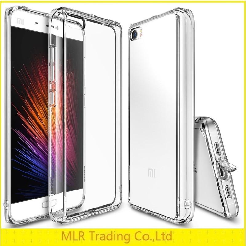 bilder für Für xiaomi mi5 phone cases original ringke fusion crystal clear pc zurück tpu abdeckung coque für xiaomi mi5 drop schutz