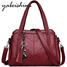 Fashion women bag over shoulder bags for women Tassel luxury handbags women bags designer sac main brand leather crossbody bags
