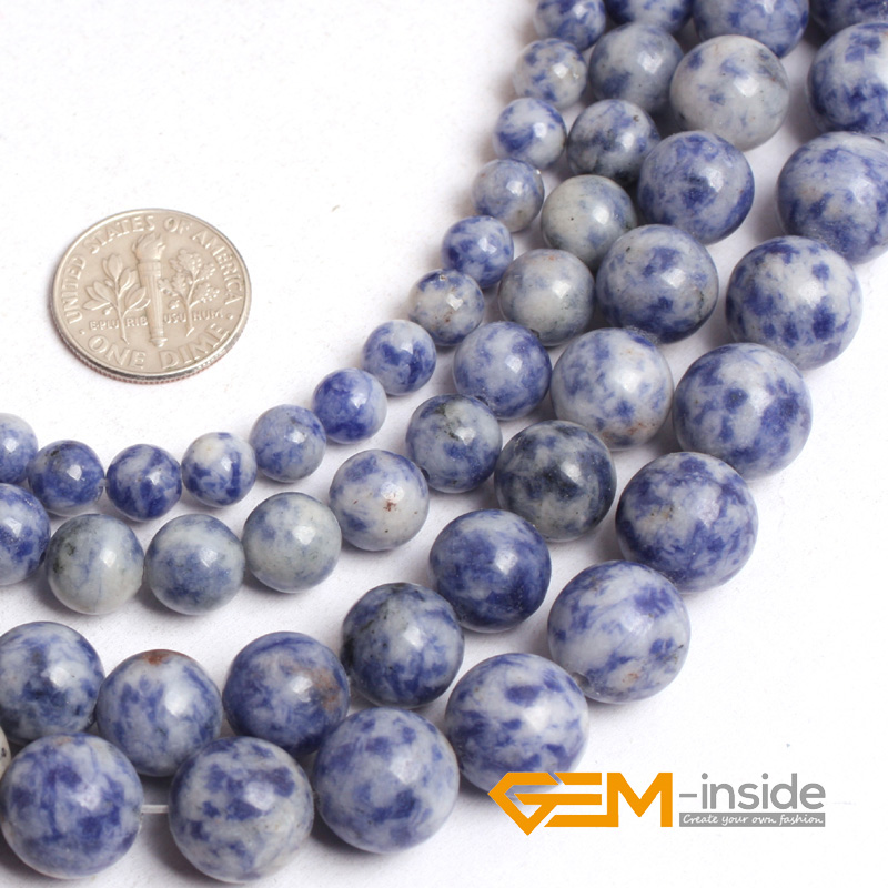 round sodalite stone beads natural stone beads diy loose