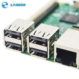 Image 4 - راسبيري Pi 3 نموذج B لوحة 1GB LPDDR2 BCM2837 رباعية النواة راس PI3 B ، PI 3B ، PI 3 B مع واي فاي وبلوتوث