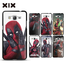 Grand prime G530 case for fundas Samsung Galaxy Grand Prime Deadpool PC G531 cover for coque Samsung Galaxy Grand Prime case