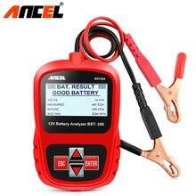 ANCEL, Bst200 de batería de coche de Multi-idioma 12 V 1100CCA el sistema de batería de detectar coche automotriz mala batería de diagnóstico herramienta