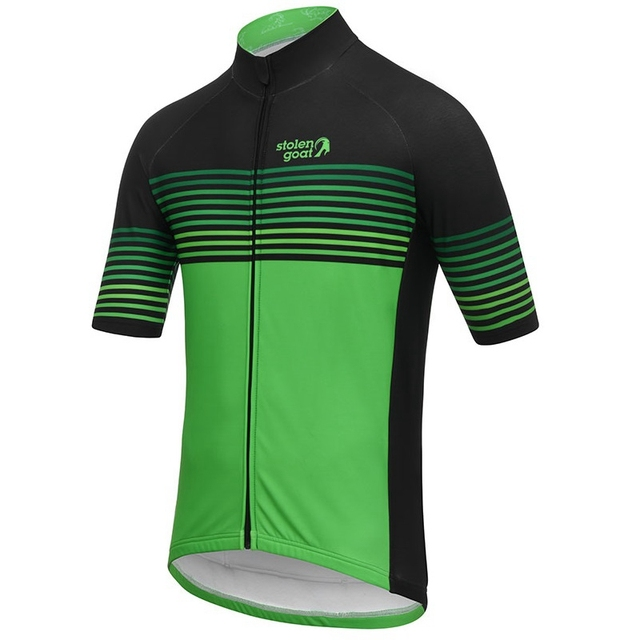 Stolen goat Striped Cycling Jersey short sleeve bicycle clothing Summer Line pattern maillot homme quick dry t shirt road bike 4