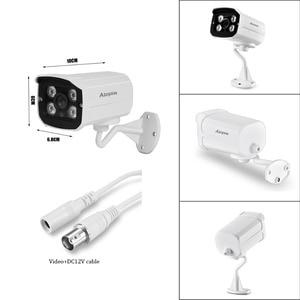Image 5 - Full HD 1080P 720P Security AHD Camera Outdoor Waterproof 4pcs Array infrared Night Vision Metal Bullet Surveillance CCTV camera
