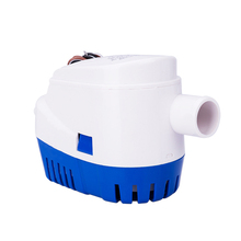 1100 GPHAutomatic Bilge Pump 12V/24V DC Marine Boat Submersible Drain Accessories