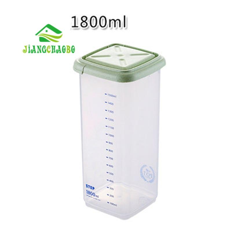 JiangChaoBo Kitchen Storage Tank Serbatoio di plastica Serbatoio di - Organizzazione e deposito in casa - Fotografia 3