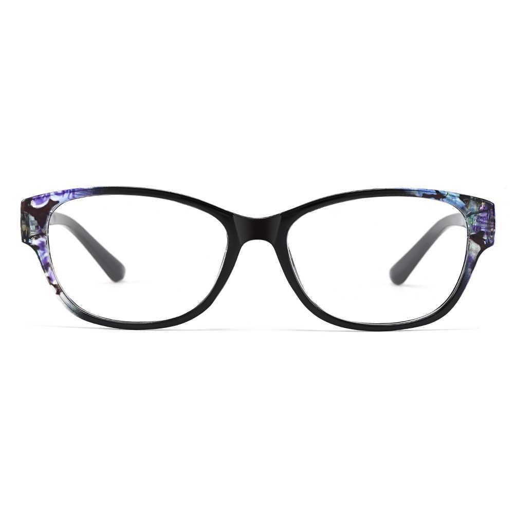 Gmei Quang Thời Trang Nhiều Màu Sắc Urltra-Đèn TR90 Nữ Full Viền Quang Mắt Kính Gọng Kính Nữ Nhựa Cận Thị Kính Mắt M1451