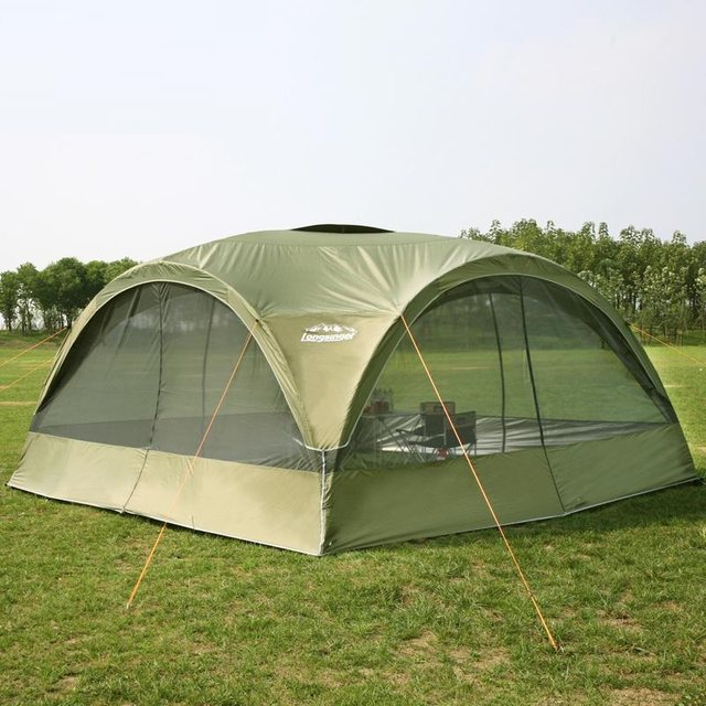 SAVE BIG ON ANNIVERSARY SALE & Online Shop Summer outdoor super large camping tent canopy tent ...