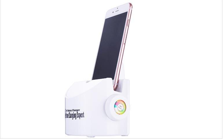 360 grados teléfono móvil 2.1A Universal teléfono móvil Ipad cargador Smartphone cargador