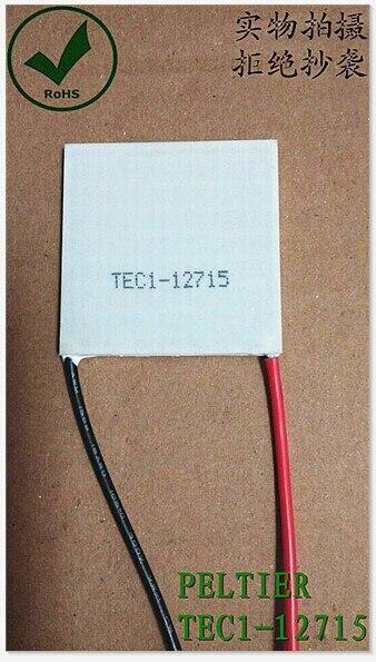 TEC1-12715 136.8W 12V-15.4V 15A TEC Thermoelectric Cooler Peltier (TEC1-12715)