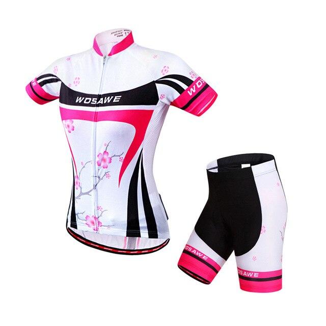 Mulheres Pro Roupas de Ciclismo MTB Bicicleta Jersey Equitação Desgaste Bicicleta Jersey Roupas Ciclismo Jersey Bicicleta Desgaste Da Bicicleta Roupas Curtas Conjuntos 3