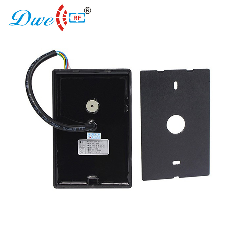 Image 4 - DWE CC RF access control card reader RS232 / RS485 door access IP 66 proximity card reader with black color-in Control Card Readers from Security & Protection