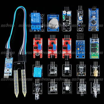 Nano V3.0 Board + Sensor Starter Module Kit For Arduino Starter With Plastic Box Free Shipping & Drop Shipping