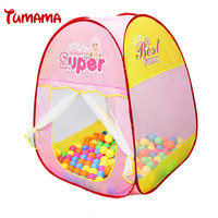 Ultra Large Princess Play Tent Toys Baby Girl Super Game House Room Durable Tent Beat Gift