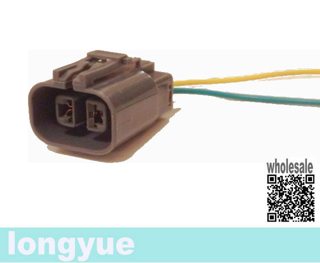 longyue 2pcs alternator repair plug harness connector ford