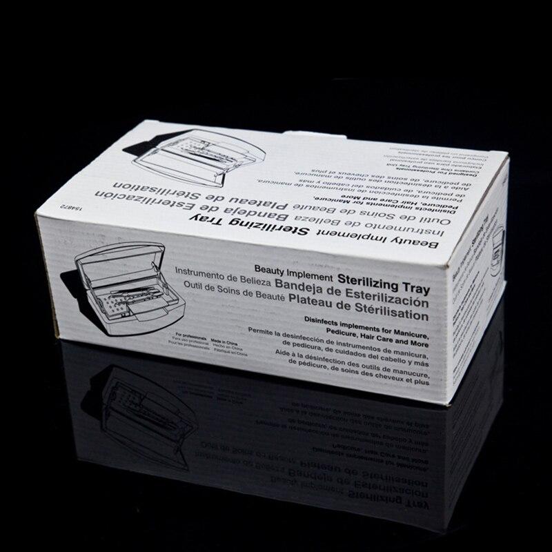 Профессиональный стерилизатор для ногтей, коробка для дезинфекции, маникюрный Пинцет для салона, металлические инструменты, дезинфицирующая коробка для дезинфицирующих средств, Маникюрный Инструмент для хранения