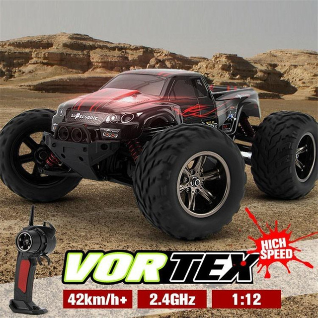RC Car 9115 40km/h 2.4G 1:12 Scale Rock Crawler Car Supersonic Monster Truck Off-Road Vehicle Buggy Electronic Speed Car Toy