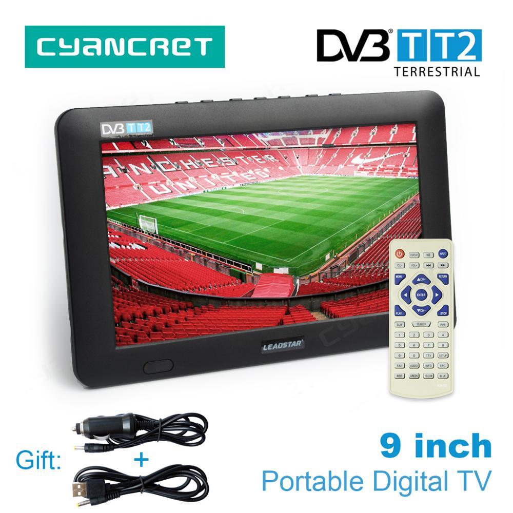 LEADSTAR 9 inch Portable TV DVB-T2 Digits